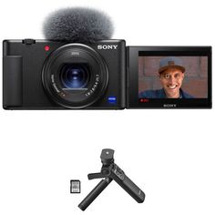 Get this Sony ZV-1 Digital Camera (With Vlogger Accessory Kit) for only $846 after a price drop from $896 at B&H Photo Video. You save 6% off the retail price for this digital camera bundle. Plus, this item ships free. Deal expires soon. Online Shopping Deals, Online Deals, Price Drop, Retail Price, Digital Camera, Sony, Ships, Kit, Photo And Video
