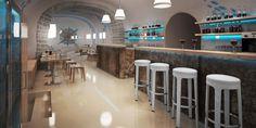 Návrh interiéru restaurace - Liberec | KEEPLINE