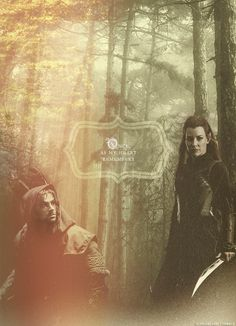 Once as my heart remembers #thehobbit #tauriel #kili