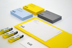 Tait Identity Design // Branding + color palette + stationery design