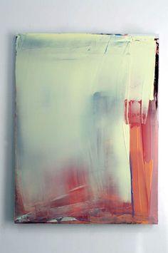 "Matt McClune - ""Untitled; Feb / March 2014"" 2014 Kremer Pigments and acrylic on Dibond, 200 x 150 cm"