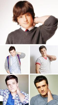 josh hutcherson, no change since young.