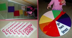 Life size Candy Land. Fun for kids to do in big groups!