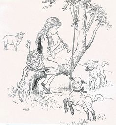 112 Best Mary Had a Little Lamb illustrations images