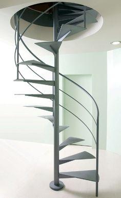 Scala in acciaio - Monolitica - Alfa Scale