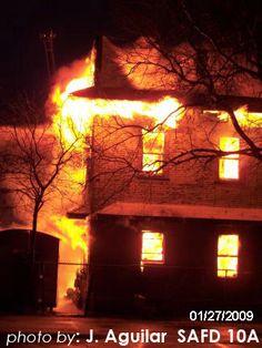 San Antonio Fire Scene Photos From January 2009