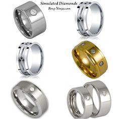 Simulated Diamond Rings from www.ring-ninja.com!
