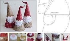 Christmas elves made on Christmas Ornament Crafts, Christmas Crafts For Kids, Christmas Baubles, Xmas Crafts, Diy Christmas Gifts, Christmas Projects, Christmas Wreaths, Christmas Decorations, Merry Little Christmas