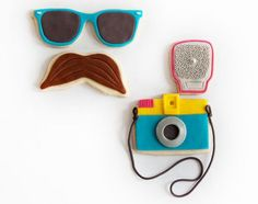 photos & camera cookie sets by manjar on etsy
