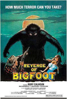 Revenge Of Bigfoot - 1979 - Movie Poster