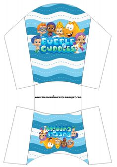 Character Activities, Kids Bubbles, Boxes And Bows, Bubble Guppies Birthday, Guppy, Box Design, 2nd Birthday, Food Art, Party Themes