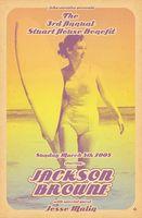 Jackson Browne Poster - John Varvatos, West Hollywood - Scarlet Rowe