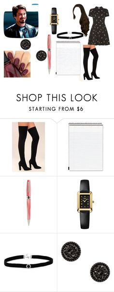 """""""Imagine interviewing your dad for a school project"""" by bluenia on Polyvore featuring Dorothy Perkins, Bamboo, Mead, Montegrappa, Fendi and BillyTheTree"""