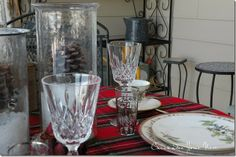 Winter Picnic – On the Screened Porch at Chickadee Home Nest