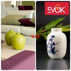 Green or White? Which #vase would you prefer on your #livingroom #table? Go on. Have a look at our vase collection--->http://bit.ly/1TZBCuo #Homedecor #furniture