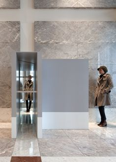 Natasha Johns-Messenger: Double Take Art Fund, Stone Veneer, Double Take, Public Art, Walking, Walls, Studio, Architecture, Arquitetura