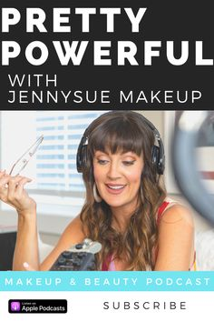 Pretty Powerful with JennySue Makeup is a podcast created by professional make up artist and beauty blogger Jennifer Duvall Brow Brush, Cool Mirrors, Natural Brows, Brow Powder, Brow Shaping, Eyebrow Pencil, Natural Shapes, Get In Shape