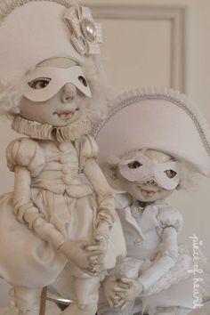 текстильные куклы серия вкус и цвет