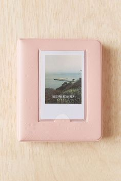 Mini Instax Photo Album in Blush (holds 64 photos)