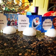 Frozen Food Ideas with Free Printables