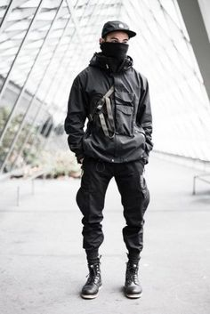 10 Creative Tips: Urban Fashion Club Outfit urban fashion male boots.Urban Wear For Men Streetwear urban fashion menswear shoes. Street Goth, Men Street, Street Wear, Mode Cyberpunk, Cyberpunk Fashion, Cyberpunk Clothes, Streetwear Mode, Streetwear Clothing, Streetwear Fashion