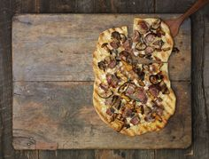 Grilled Dove Pizza