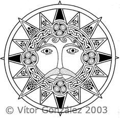 Celtic Sun by twistedstrokes