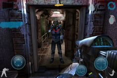 The Infinity Project 2 was released to the iTunes App Store today. The game is compatible with the iPad, iPhone, and iPod Touch. The Infinity Project 2 is a first person shooter blending free roam and linear gameplay with a deep story line. Three game modes are available, Campaign Mode, Survival Mode, and Multiplayer.