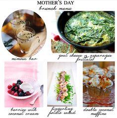 A Mother's Day Brunch Menu | theglitterguide.com