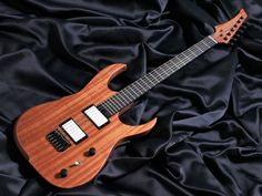 Guitar players from Japan, a handcrafted 'Helldunkel model' is currently available at Shimamura music !  The guitar is fitted with exclusive 'Hufschmid Glowbuckers', the world's first resin cast humbuckers which glow in the dark and is the first guitar in Japan to be fitted with these unique pickups, total uniqueness !  I invite you to check out the guitar and give it a play, you can also check out my unique plectrums and string muters, tell them I am sending you ! 😜 . #hufschmid #luthier…