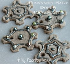 Cinnamon Salt Dough Ornaments DIY