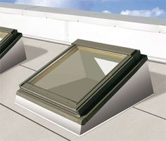 Flat Roof Window - possible for box style solar oven