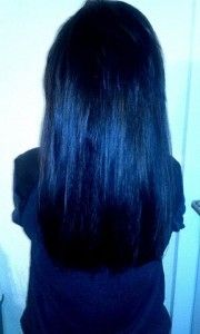 semi long hair, black hair, straight hair, www.magazyn.modadamska.waw.pl