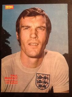 A4 Football picture/poster PAUL MADELEY Leeds Utd in England Kit in Sports Memorabilia, Football Memorabilia, Prints/ Pictures | eBay!