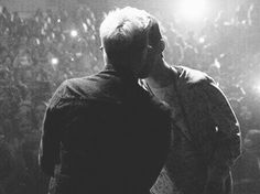 Troyler kiss is real. This will always be my favorite picture. ever.