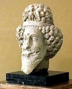 Parthian  head from Hatra,Iraq