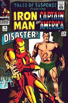 Tales of Suspense 79. Iron Man vs Sub-Mariner.