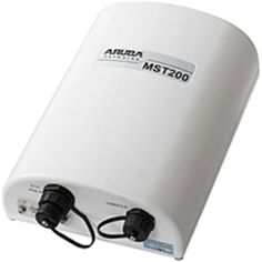 Aruba Networks MST200 IEEE 802.11n Wireless Router - 5.85 GHz UNII Band - 1 x Antenna - 4.7 Mile Outdoor Range - 300 Mbit/s Wireless Speed - 1 x Broadband Port - USB - PoE Ports - Gigabit Ethernet - Wall Mountable, Pole-mountable, Mast-mountable