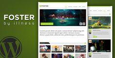 foster - one pager portfolio theme