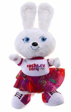 Hare (Bunny) Official Mascot Winter Olympic Sochi 2014  #Sochi2014 #Mascot