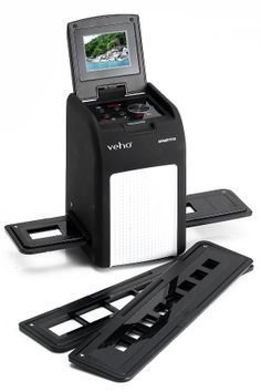 Veho VFS-008 Smartfix slide and negative scanner. Convert all your old negatives and slides direct to SD Card. No PC or Mac Required, but also PC and Mac compatible.