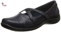 Easy Street Marcie Large Synthétique Mary Janes, Bleu Marine, 38 - Chaussures easy street (*Partner-Link)