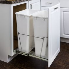 Taking out the trash on pinterest waste container for 22 deep kitchen cabinets