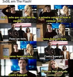 Crossovers entre o Arrowverse Marvel Dc, Flash E Supergirl, Arrow Flash, Star Labs, The Flash Grant Gustin, Cw Dc, Snowbarry, Dc Memes, Funny Memes
