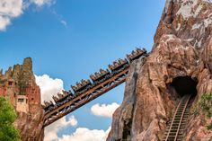https://flic.kr/p/J8CeVm | The Excitement Builds | Today's photo tour sends us to Disney's Animal Kingdom for a shot of Expedition Everest. I love this part of the ride because it offers some really nice aerial views of the park, not to mention, some sweet photographic opportunities. Have you ever taken a photo while climbing the lift hill? Have a magical day!   Visit Disney Photo Tour on Facebook and Instagram