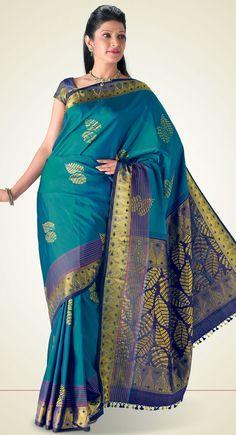 Arundathi Kanchipuram Saree http://www.harinisilks.com/arundathi-kanchipuram-saree.html