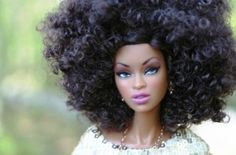 Natural Hair Barbie...