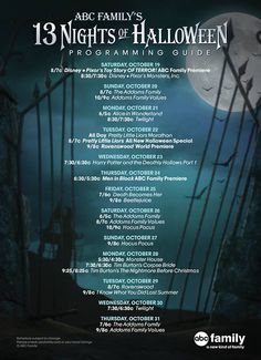 13 Nights Of Halloween 11 | ABC Family 13 Nights Of Halloween ...
