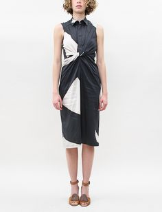 Christian Wijnants Djerba Sleeveless Oxford Dress-Triangles (Creatures of Comfort)