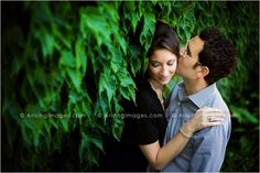 Gorgeous shot of this couple. The bright leaves made a perfect background. Engagement photos taken at the beautiful Cranbrook. #engagement #cranbrook #beautiful #couple